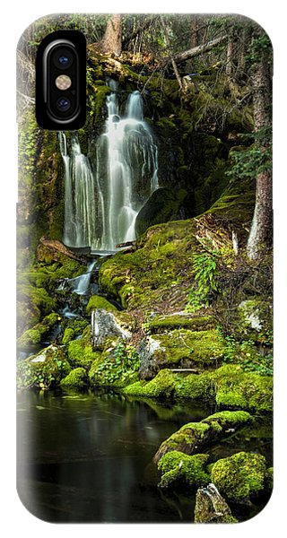 Mossy Falls IPhone Case
