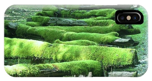 Mossy Fence IPhone Case