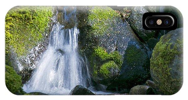 Mossy Rocks Stream IPhone Case
