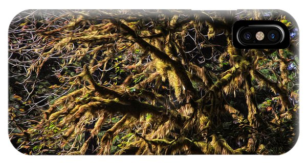 Mossy Trees IPhone Case