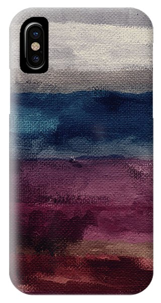 Grey Skies iPhone Case - Most Of All- Abstract Art By Linda Woods by Linda Woods