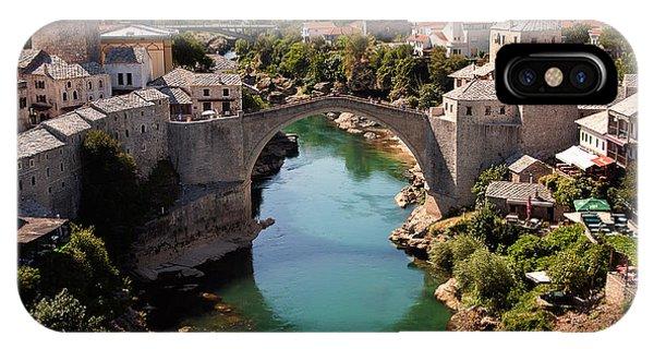 Mostar iPhone Case - Mostar by Blaz Gvajc
