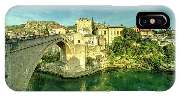 Mostar iPhone Case - Mostar Bridge  by Rob Hawkins