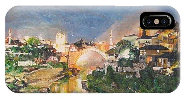 Mostar iPhone Case - Mostar by Mirjana Lesic