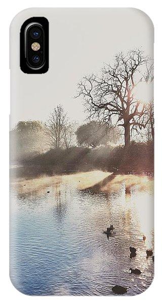 Mote Park Winter Morning  Phone Case by Stuart Ellesmere