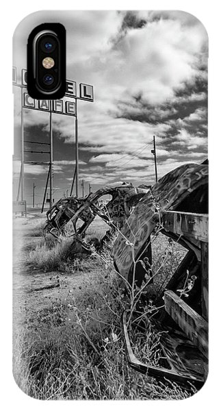 Motel Cafe Northern Texas  IPhone Case