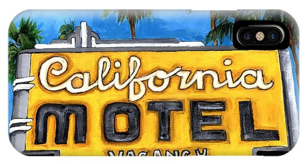 Motel California IPhone Case