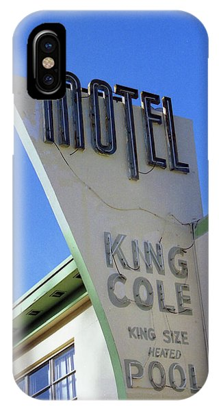 Motel King Cole IPhone Case