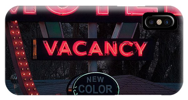 iPhone Case - Motel-pink by April Bielefeldt
