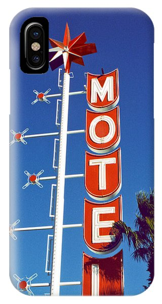 Motel With Stars IPhone Case