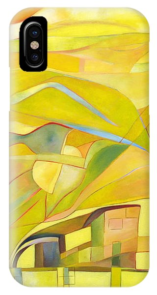 IPhone Case featuring the painting Mother And Child by Linda Cull