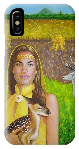 Mother Goddess Ker - Lammas IPhone Case