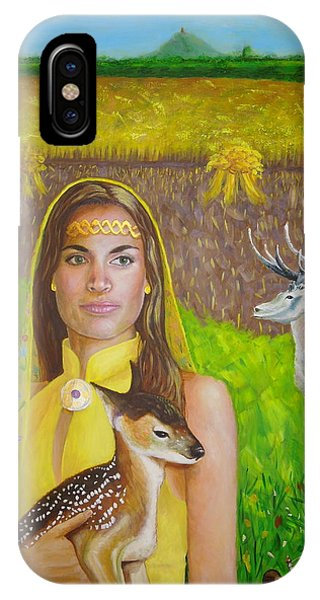 Mother Goddess Ker - Lammas IPhone Case