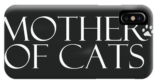 Design iPhone Case - Mother Of Cats- By Linda Woods by Linda Woods
