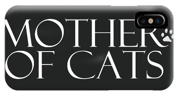 Mother Of Cats- By Linda Woods IPhone Case