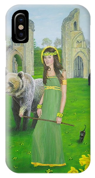 Mother Of Fire Goddess Artha - Spring Equinox IPhone Case