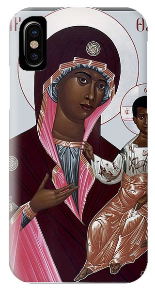 Mother Of God - Protectress Of The Oppressed - Rlpoo IPhone Case