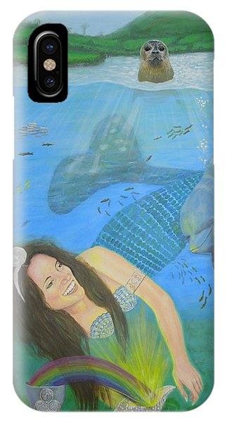 Mother Of Water Goddess Domnu - Summer Solstice IPhone Case