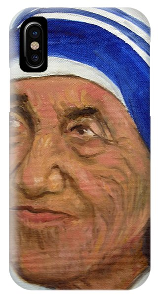 Mother Theresa IPhone Case