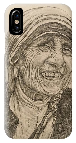 Religious iPhone Case - Mother Theresa Kindness by Kent Chua