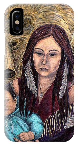 Motherhood-guardian Spirits IPhone Case