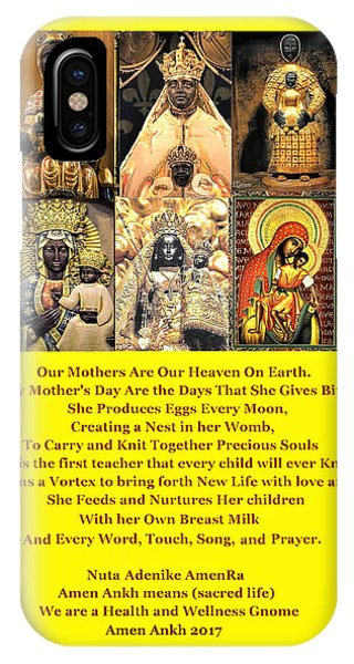 Mothers Are Heaven On Earth IPhone Case