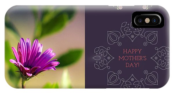 Mother's Day Flower IPhone Case