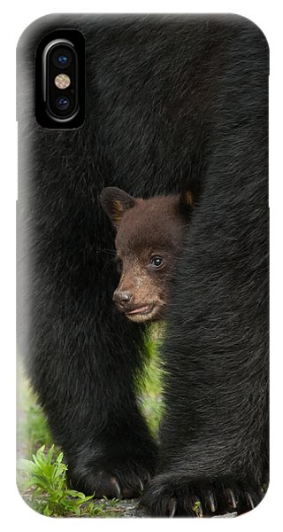 IPhone Case featuring the photograph Mother's Shelter by Joye Ardyn Durham