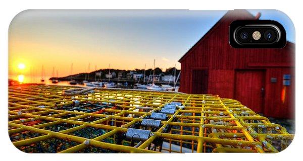 Motif 1 Lobster Trap Sunrise IPhone Case