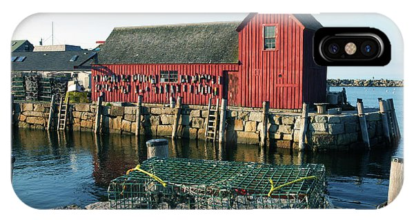 Motif Number One II Rockport Massachusetts IPhone Case