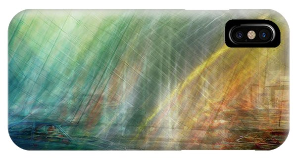 IPhone Case featuring the photograph motion in Dublin street by Ariadna De Raadt