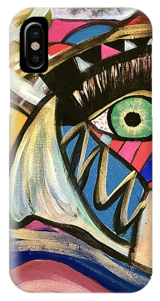Motley Eye 3 IPhone Case