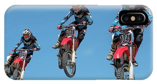 Motocross Riders IPhone Case