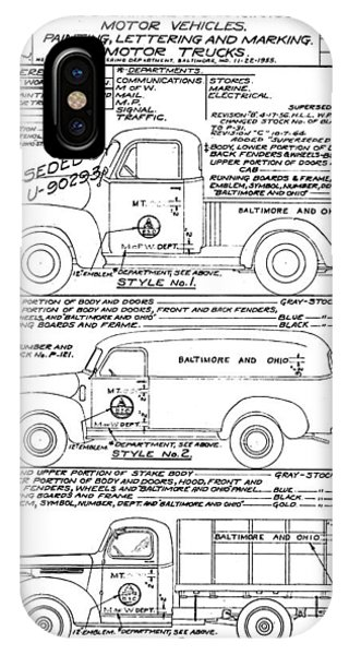 Motor Vehicles IPhone Case