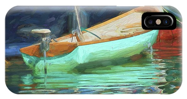Powerboat iPhone Case - Motorboat - Reflection by Nikolyn McDonald
