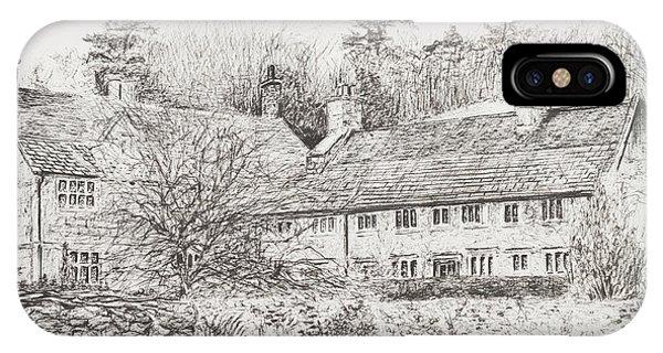 Mottistone Hall  Isle Of Wight IPhone Case