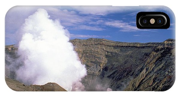 Mount Aso IPhone Case