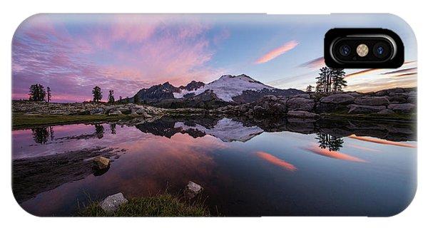 Mount Baker Dawns Colors Clarity IPhone Case