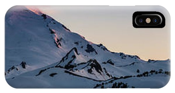 Mount Baker Dusk Panorama IPhone Case