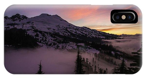 Mount Baker Sunrise Peaceful Morning IPhone Case