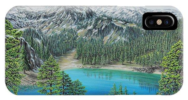 Mount Baker Wilderness IPhone Case