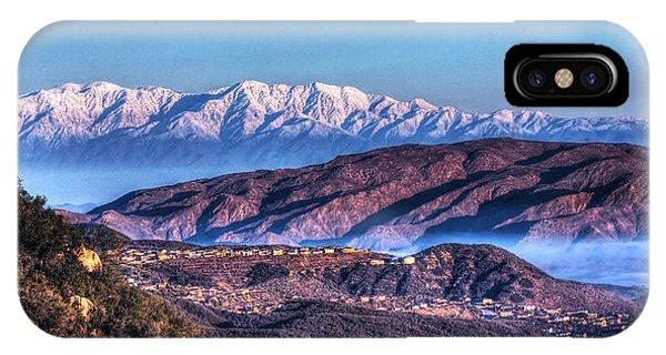 Mount Baldy IPhone Case