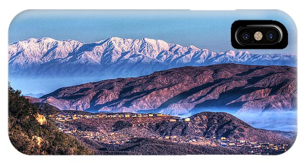 Mount Baldy IPhone Case