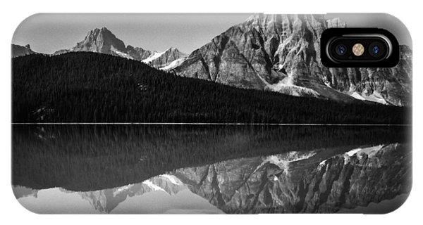 Mount Chephren Reflection IPhone Case
