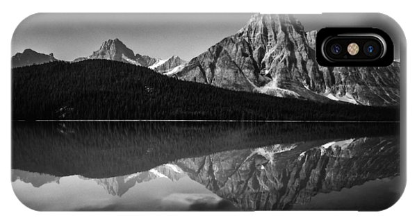 Mount Chephren Reflection IPhone Case