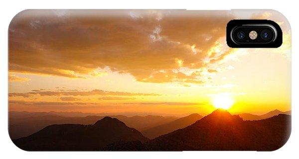 Mount Evans Sunset IPhone Case