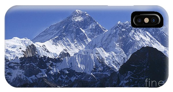 Mount Everest Nepal IPhone Case