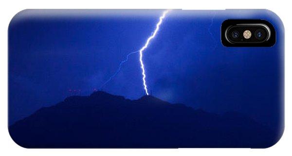 Mount Franklin Lightning IPhone Case