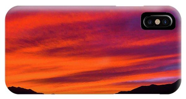 Mount Franklin Purple Sunset IPhone Case