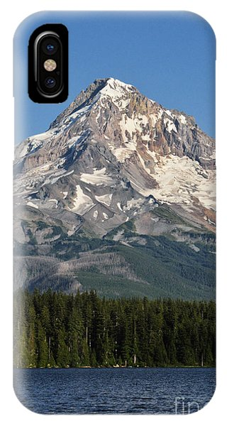 Mount Hood Above Lost Lake IPhone Case